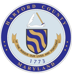 Harford county vector