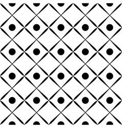 Square geometric seamless pattern vector image