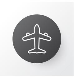 air transport icon symbol premium quality vector image