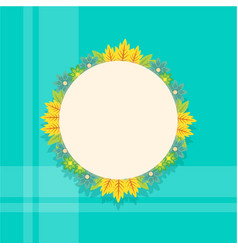 Collection of cute frame with flower vector