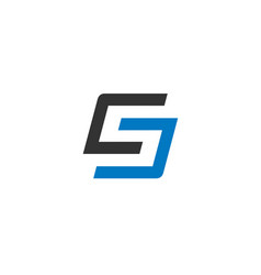 letter s logo icon design template vector image vector image