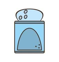 Salt seasoning cook kitchen vector