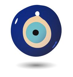 Turkish evil eye bead vector