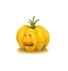 Halloween scared vector image