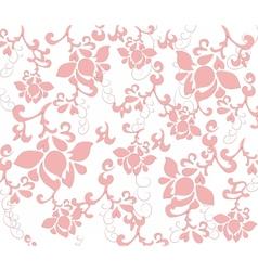 Pastel flower texture pattern vector