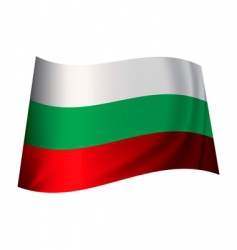 Bulgaria flag vector