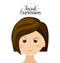 expression facial vector image