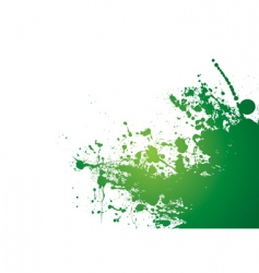 Grunge splat background vector