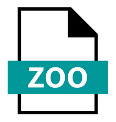 File name extension zoo type vector