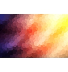 Two-dimensional mosaic colorful background vector