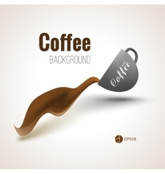 Coffee background for your designs posters and vector
