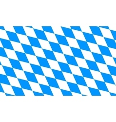 Bavaria and Oktoberfest flag pattern or background vector image