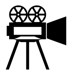 Camera icon simple style vector image vector image