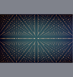 Infinity data matrix visualization vector