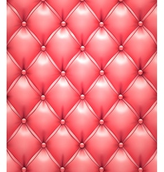 Pink upholstery leather pattern background vector