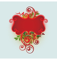 8floral line 02 1 vector image vector image