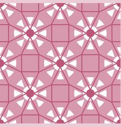 abstract triangular polygonal shape kaleidoscope vector image vector image