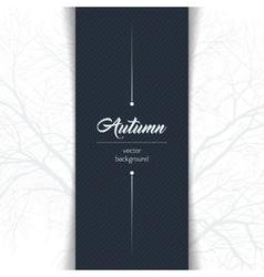 Autumn typographic vector