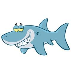 Happy Shark vector image vector image