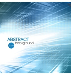 Abstract blue shiny template background vector
