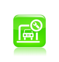 car box icon vector image