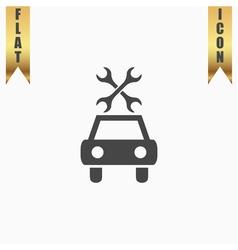 Car service icon vector image vector image