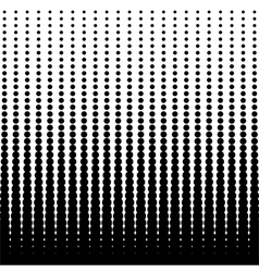 Halftone dotted background vector