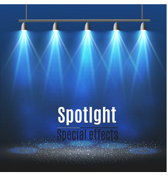 Spotlight light effectscene illumination vector
