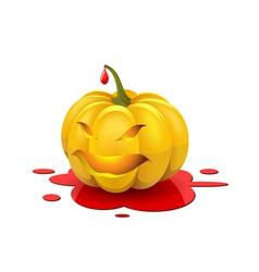 Angry Halloween vector image vector image