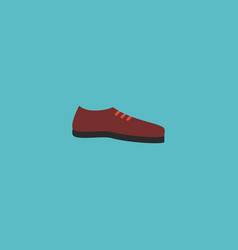flat icon shoe element of vector image