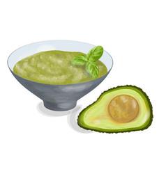 guacamole vector image vector image