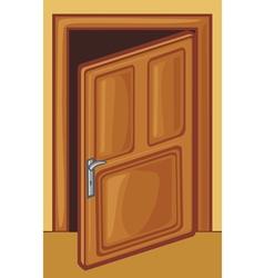 open door vector image