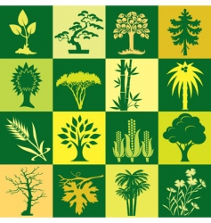 Plants bg vector