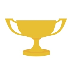 cup trophy victory icon graphic vector image