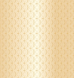 Geometric gold pattern background vector