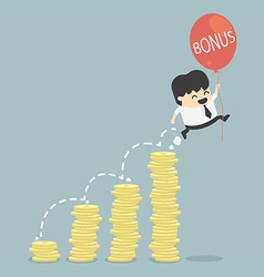bonus of Businessman vector image
