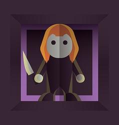 Halloween character vector