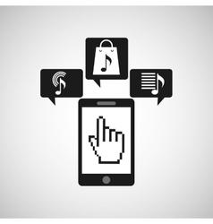 App store phone vector