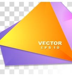 Colorful tech shiny flyer design vector