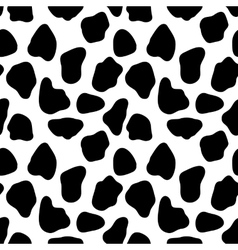 Cow seamless pattern abstract background vector