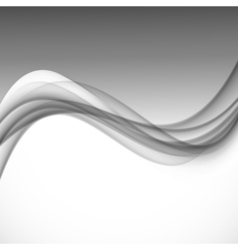 Abstract dynamic smooth design background vector