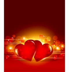 Festive valentines day vector