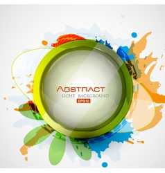 abstract collage vector image
