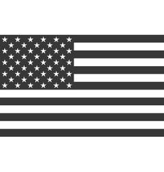 American National official political flag vector image vector image
