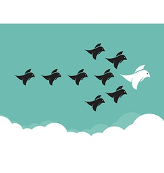 Bird leadership vector