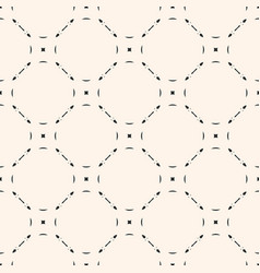 monochrome seamless pattern subtle background vector image vector image