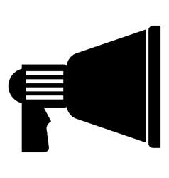Spotlight icon simple style vector