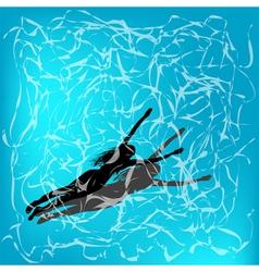 Under water vector