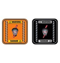 Warning sign Danger vector image vector image