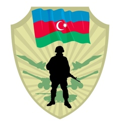 Army of azerbaijan vector